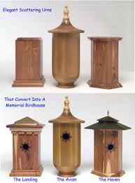 memorial urns birdhouse memorial scattering urns living memorials