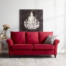 living room red couch red sofas couches for less overstock com