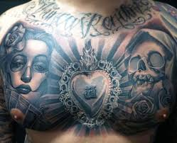 amazing chest by carlos torres design of tattoosdesign of