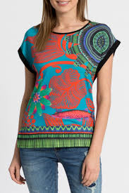 desigual amaia t shirt top from hawaii by hurricane limited