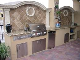 Prefab Outdoor Kitchen Grill Islands Best 25 Built In Bbq Grill Ideas On Pinterest Built In Bbq