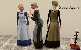 mod the sims simdom garment shoppe more medieval dresses ye