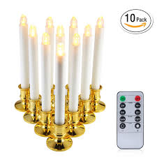 electric candle lights for windows niceeshop tm window candles 10pcs led electric candle lights with