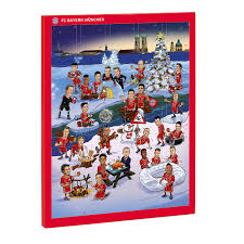 chocolate advent calendar 2017 official fc bayern store