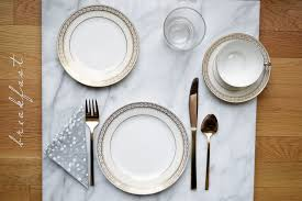 how to set a table for breakfast how to set the table for every meal one brass fox