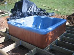 Jacuzzi Tub How To Install A Tub On A Deck How Tos Diy