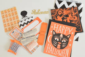 a halloween mail art afternoon kimberly ah
