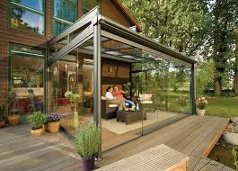 Enclosed Patio Design 20 Beautiful Glass Enclosed Patio Ideas Roof Covering Patios