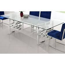 glass dining room table sets modern glass dining kitchen tables allmodern