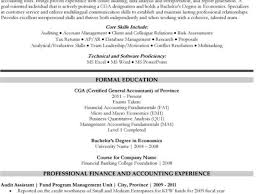 Accountant Resume Sample Canada Related Free Resume Examples Best Graduate Accountancy Resume