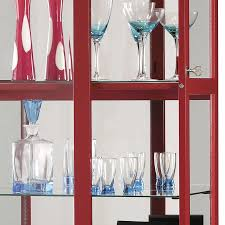 Oak Curio Cabinets Curio Cabinet Red Corner Curio Cabinet Oak Legsred Cabinetred