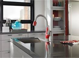 hansgrohe allegro e kitchen faucet white hansgrohe allegro e kitchen faucet centerset two handle pull