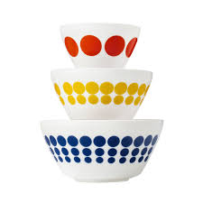 Corelle Plates Walmart Vintage Charm Spot On 3 Pc Mixing Bowl Set Inspired By Pyrex