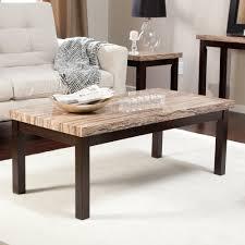 faux marble coffee table amazon com carmine faux marble coffee table kitchen dining