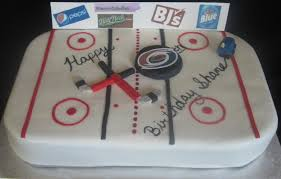 Hockey Cake Decorations Sports Cakes Pictures Ideas And Designs Raleigh Area