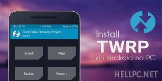 custom recovery android how to install twrp 3 1 custom recovery on android phone without