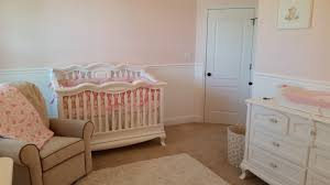 girls bed crown baby room conversion completion baby nursery