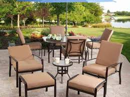Red Patio Dining Sets - patio 44 red patio umbrellas walmart with pavers floor and