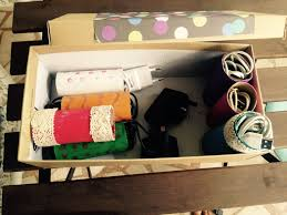 kids craft recycle toilet paper roll to make wire organizer