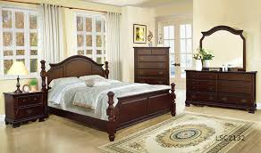 King Bedroom Set With Mattress Panel Cherry Bedroom Set King Mattress Furniture Mattresses