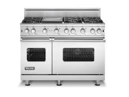 appliances amusing stainless steel freestanding range six burner