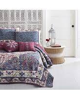 Moroccan Coverlet Deal Alert Azalea Skye Zahra Microfiber Dark Blue Quilt Set Full