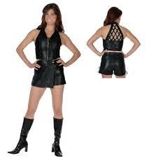 cute u0026 women u0027s leather biker halter top