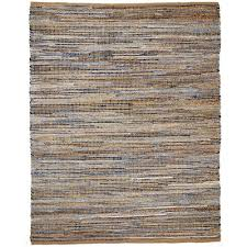 Graffiti Area Rug Anji Mountain American Graffiti 4 Ft X 6 Ft Denim And Jute Area