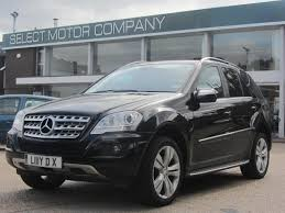 mercedes a class automatic for sale used mercedes car 2009 black diesel class ml350 cdi