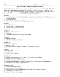introduction to psychology u2013 final exam study guide personality