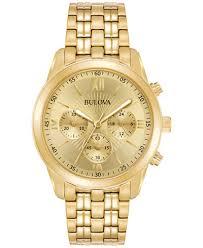 gold tone stainless steel bracelet images Bulova men 39 s chronograph sport gold tone stainless steel bracelet tif