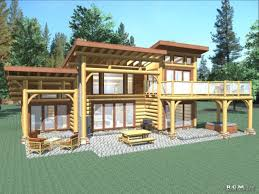 modern log cabin homes floor plans ranch style images with