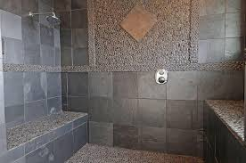 Slate Tile Bathroom Shower Bathroom Tile Photos Lovetoknow