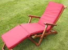 Metal Reclining Garden Chairs Garden Furniture Cushions