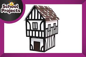 free house projects how to make a tudor house hobbycraft blog