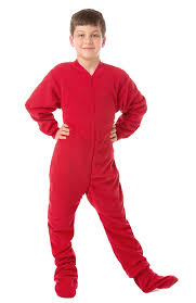 footed pajamas for