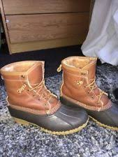 s bean boots size 9 l l bean winter s us size 9 ebay