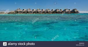 oceania french polynesia bora bora over water bungalows with