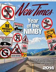 was 2014 the nimbyist year ever news san luis obispo new