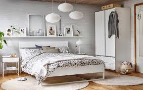 chambre à coucher blanche chambre à coucher ikea