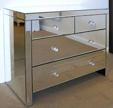 Venetian Mirrored Console Table Mirrored Console Table With Drawers Smoke Bevelled Mirrored 2