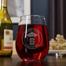 graduation wine glasses day engraved xl stemless wine glass