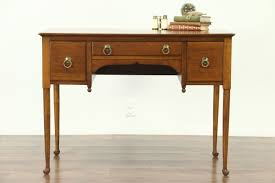 Sold Cherry 1940 S Vintage George Ii Style Writing Desk Signed