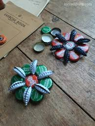 bottle cap decorations incredibusy