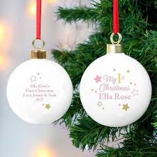 personalised family christmas decorations order online the