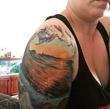 the 25 best sunset tattoos ideas on pinterest sunrise tattoo