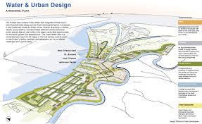 New Orleans Levee Map by Living With Water Scenario Journal