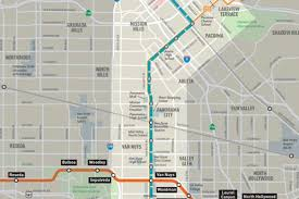 Seattle Light Rail Future Map by Streetcar Out Light Rail Or Busway In For Van Nuys Boulevard