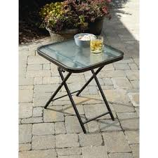 Outdoor Folding Side Table Garden Oasis Harrison Matching Folding Side Table Limited