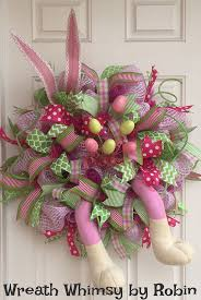 Easter Decorations With Deco Mesh by 583 Best Easter Images On Pinterest Easter Ideas Easter Crafts